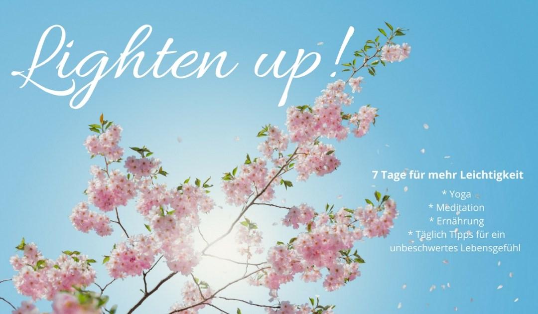 Lighten up! 7 Tage für mehr Leichtigkeit