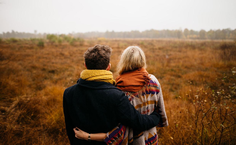 sich in einer Beziehung niederlassen