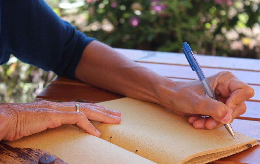 Bewegte Schreibreise in den Nationalpark Kalkalpen