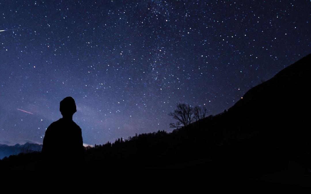 Wenn es dunkel wird in dir, siehst du die Sterne