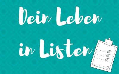 [Lies das]: Dein Leben in Listen