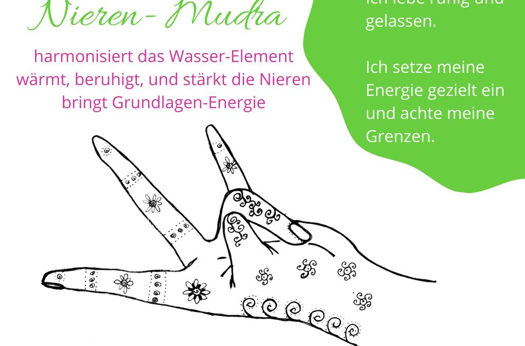 Nieren-Mudra: Hilft bei Erschöpfung