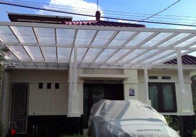 kanopi baja ringan pontianak jasa pasang rangka atap