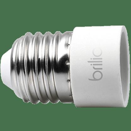 431481 - Adaptador E27 para Lâmpadas E14 - 2un. - Brilia