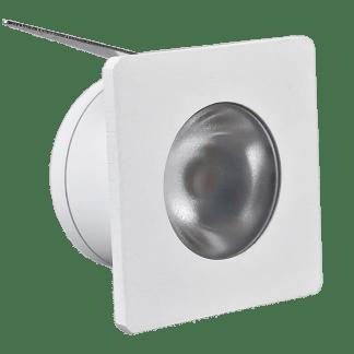 432914 - Luminária de Embutir Quadrada (2un) - Branca - 2700K - Brilia