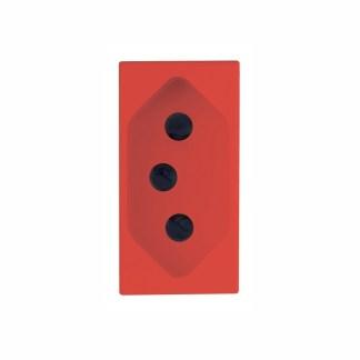 Tomada 2P+T 20A (Vermelha) - Delta Mondo (5UB9 850-7PA06) - SIEMENS