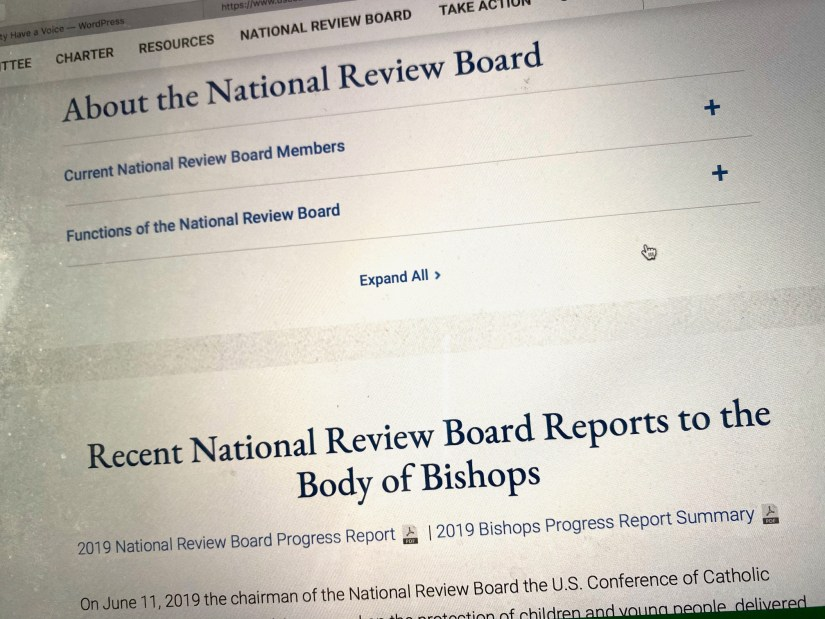 National Review Board home page