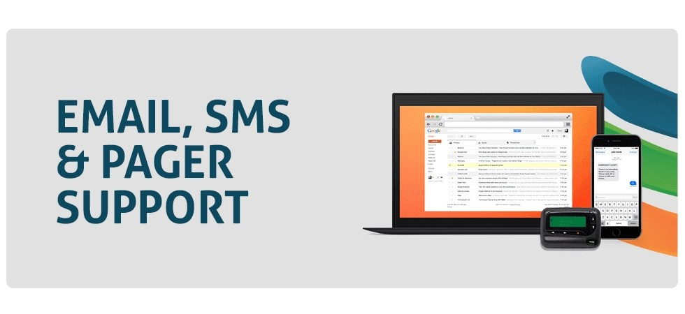 Email, SMS, and Pager Solutions from Layered Solutions