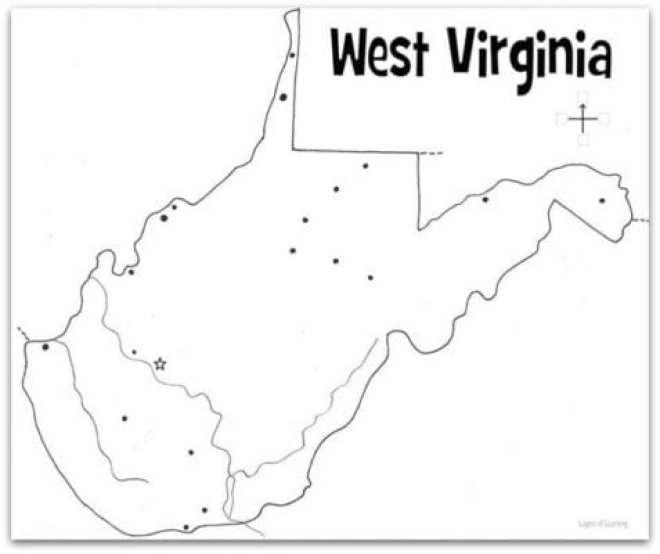 West-Virginia-Map