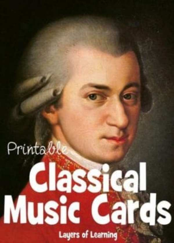 Printable cards with composers and their most famous works to help kids learn about this period in music.