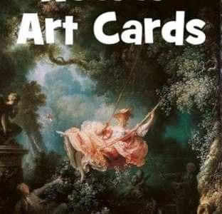 Rococo Art Cards