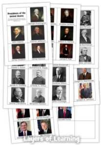 Presidents of the US Memory