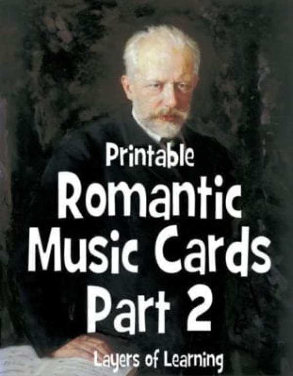 Romantic Music Cards 2