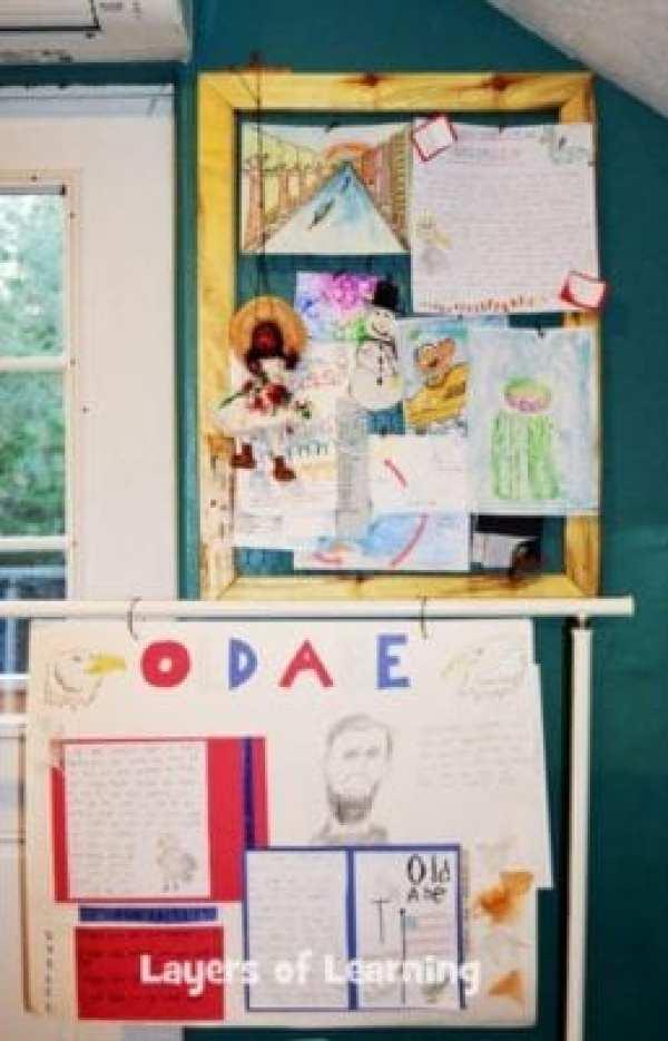 displaying-schoolwork-homeschooling-an-extrovert