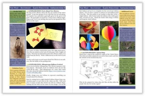 Layers of Learning Unit 4-6 sample page