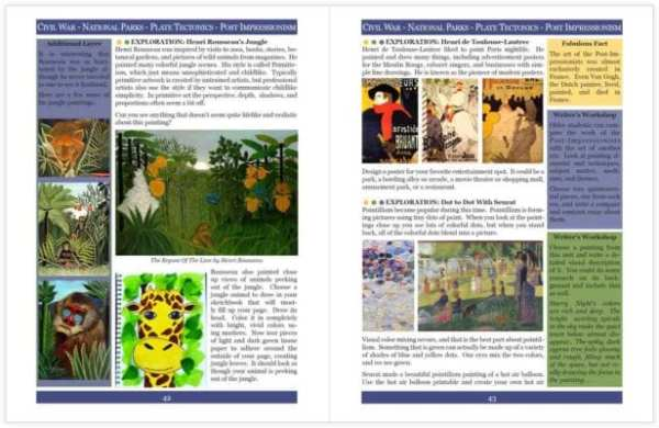 Layers of Learning Unit 4-7 sample pages