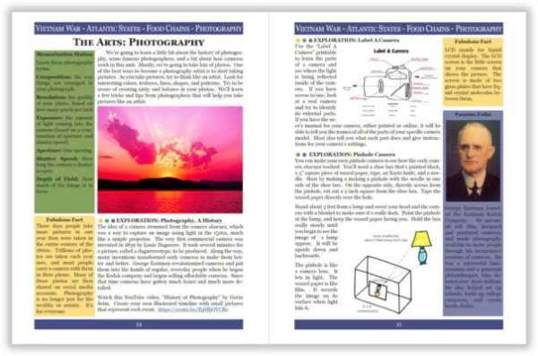 Layers of Learning Unit 4-16 sample pages