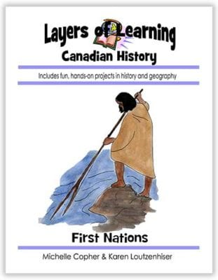 First Nations of Canada unit from Layers of Learning