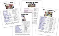 What To Do When You Can't Find Great Books – Correlation Charts, Videos, & Booklists to Supplement Layers of Learning