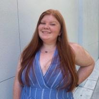 A portrait photograph of Breanne Menikheim