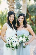 Las Vegas wedding at The Grove. White and green florals by Layers of Lovely Floral Design, Photography by Gideon Photography. April Wedding.