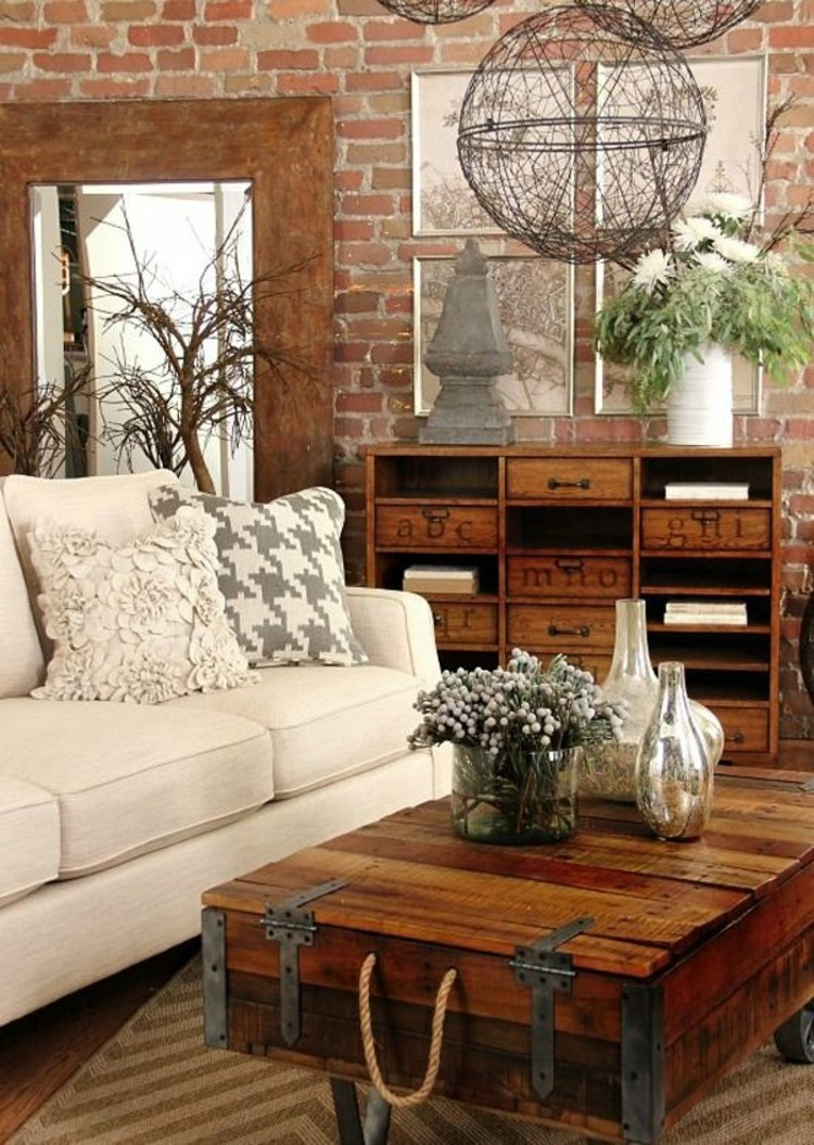 27 Best Rustic Chic Living Room Ideas And Designs For 2018 Layjao