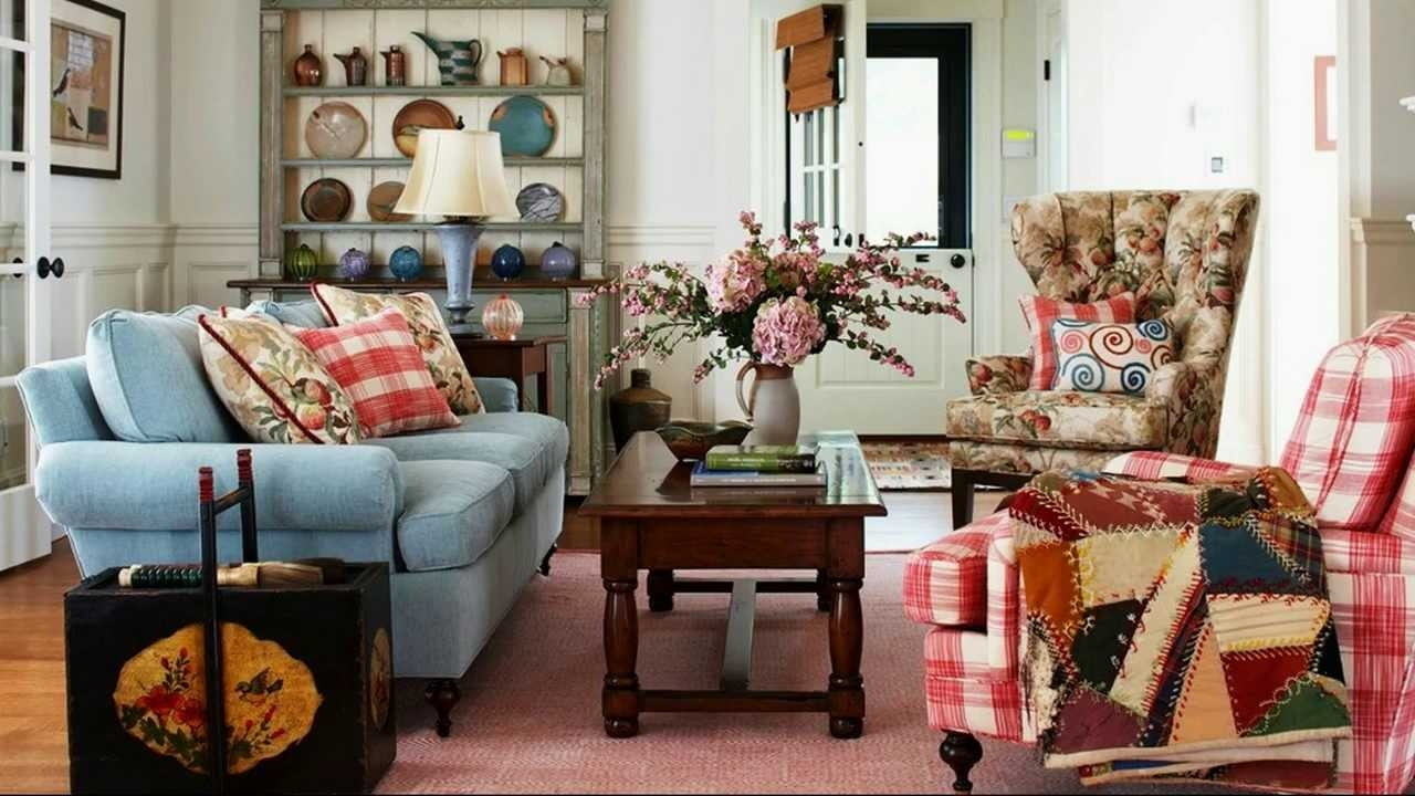 It is a mix of eclectic and vintage with pastel and neutral colors. Cool Shab Chic Living Room Decor Ideas Youtube Layjao