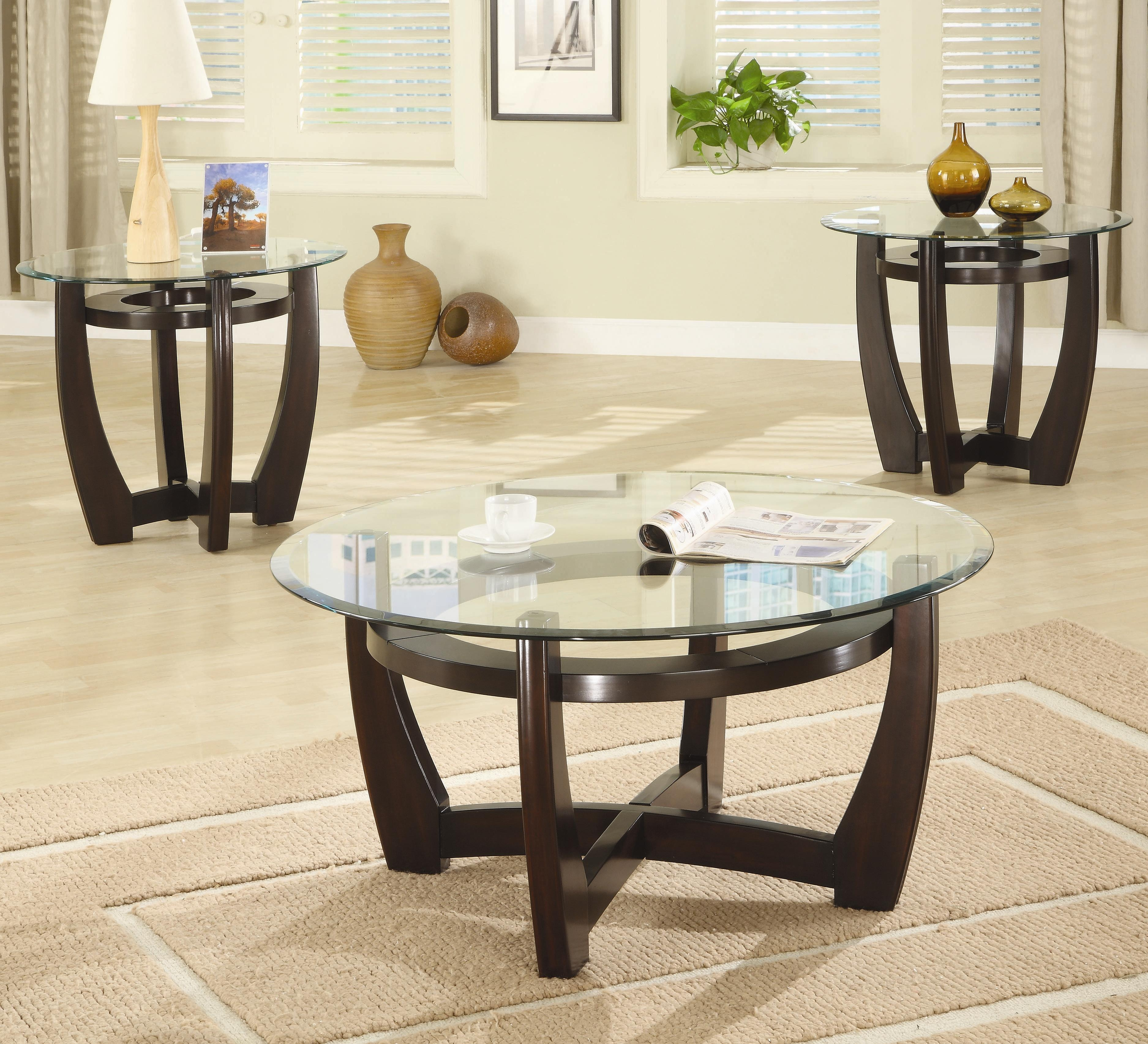 coffee tables extraordinary brown round