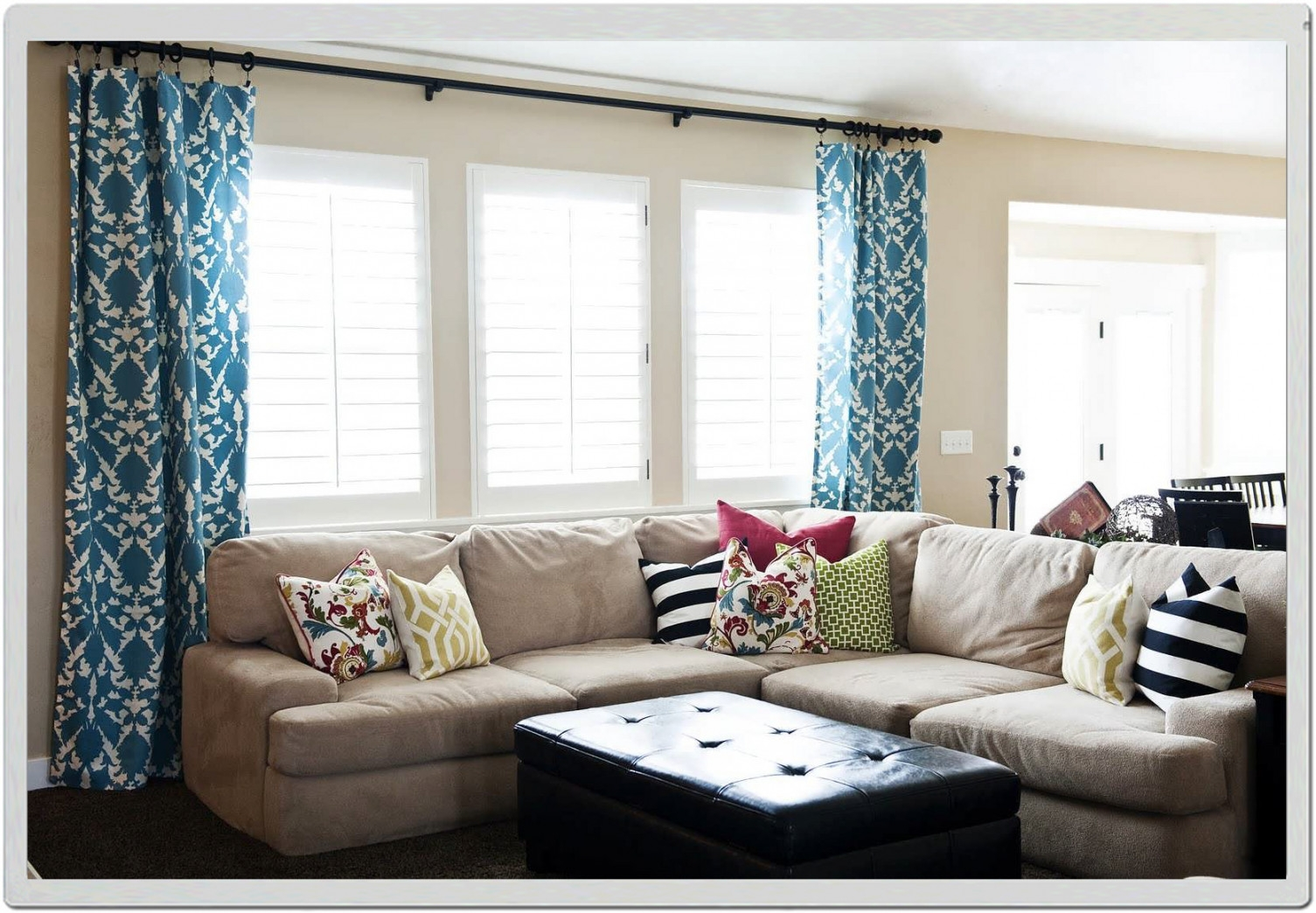 dining room window curtains best