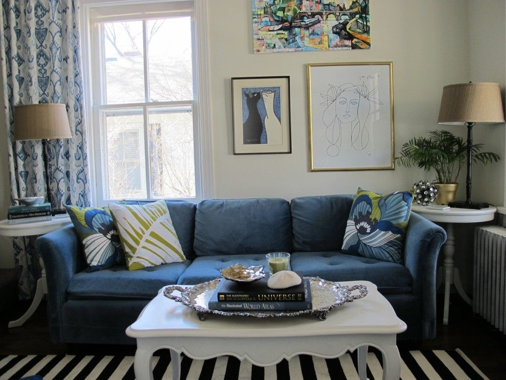 Living Room Ideas Blue Couch Layjao