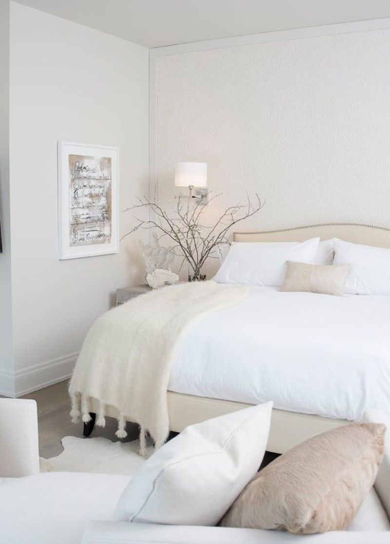 Beautiful All White Bedroom Layjao