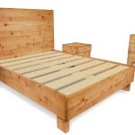 Rustic Bedroom Furniture Set Solid Wood Bed Frame Two Rustic Nightstands One 6 Drawer Farmhouse Dresser Wooden Bedroom Set Layjao