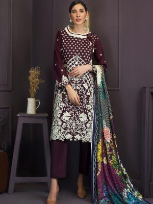 Kalyan by ZS Embroidered Lawn Collection KL-2-11