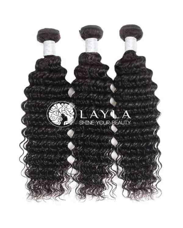 "Cambodian curly hair machine weft hair 26"""
