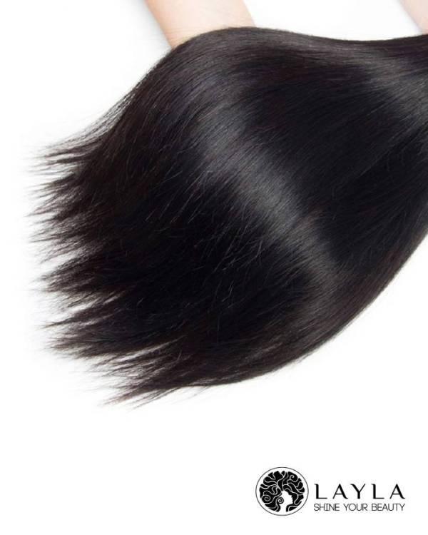 """Virgin straight hair from single doner 18"""""""