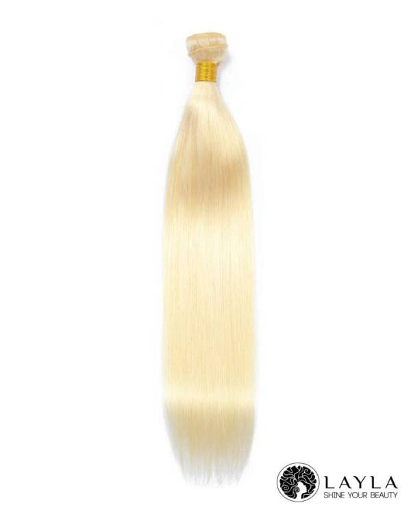 Vietnamese Double Weft Straight Blonde #613 Hair Color