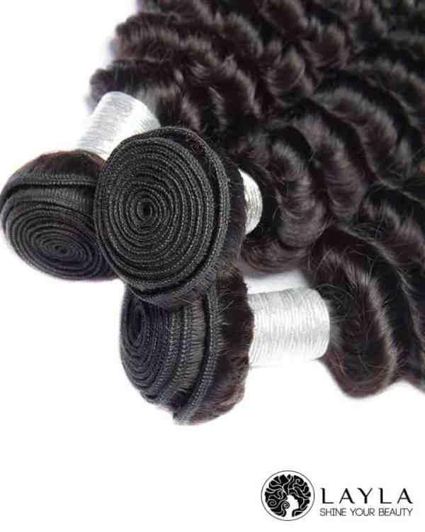 Vietnamese Deep Wave Curly Hair Extensions