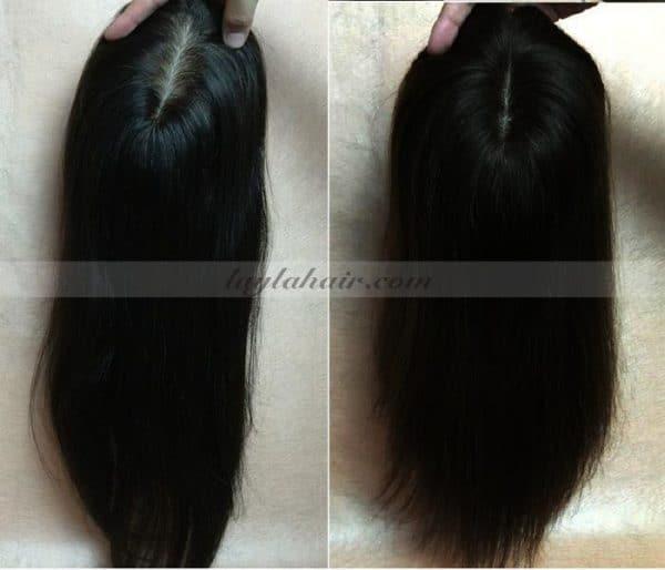 22-Inch-Brown-Clip-in-Vietnamese-Human-Hair-Topper