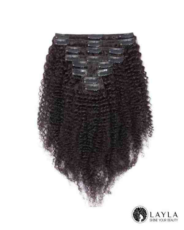 Kinky Clip in Hair Extensions
