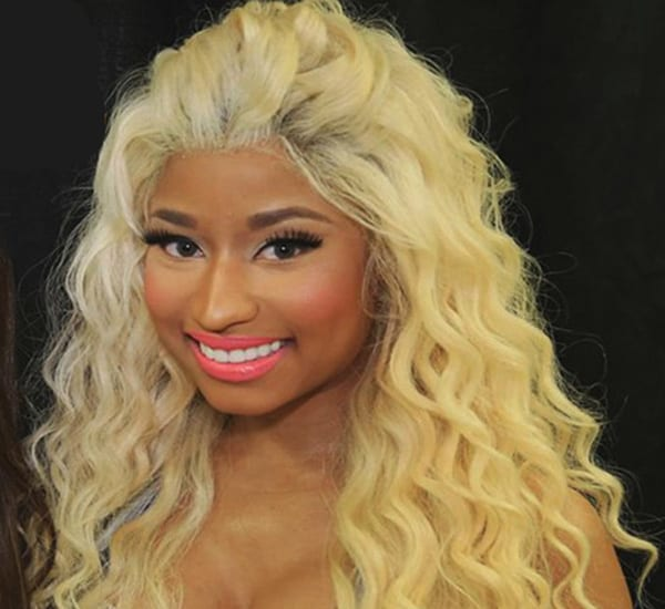 Blonde Curly Lace Front Wig - Nicky Minaj