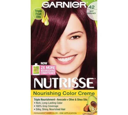 Garnier Nutrisse Nourishing Hair Color Black Cherry