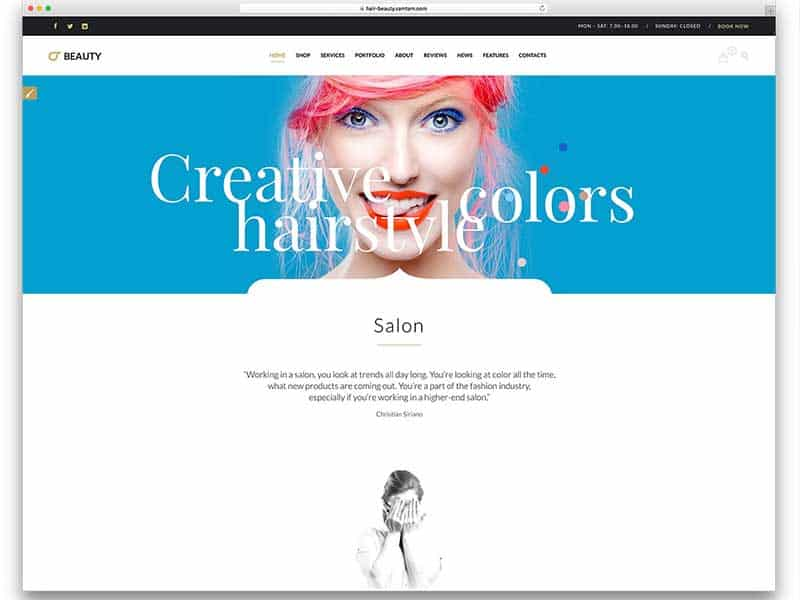 9 Must-Consider Things To Create Impressive Hair Business Websites