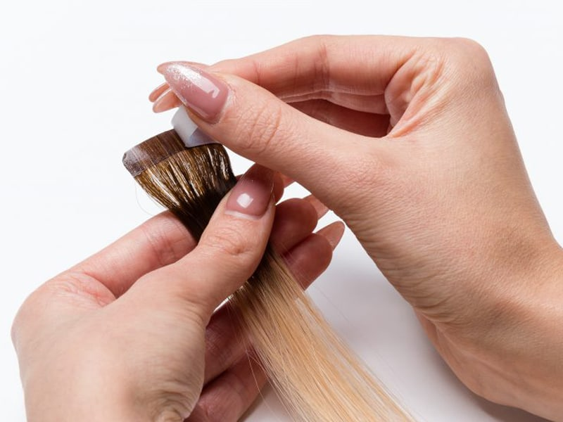 How To Re Tape Hair Extensions - It's Not As Easy As You Think