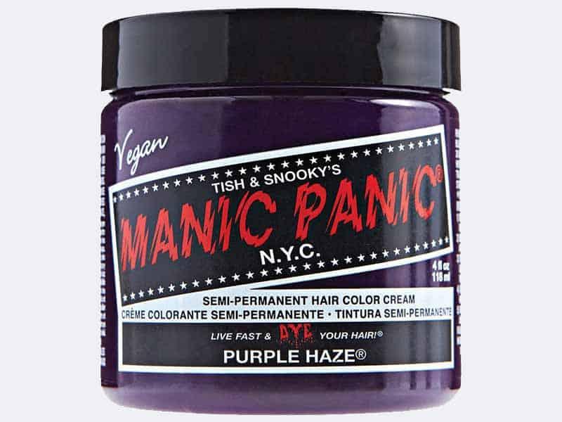 7 Best Purple Hair Dye For Dark Hair Without Bleach