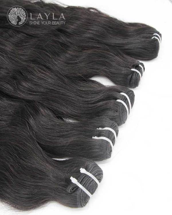 Double Drawn Cambodian Hair, Single Weft