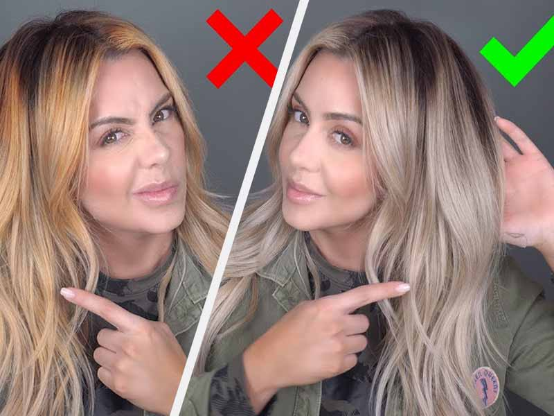 Will Dark Ash Blonde Cover Orange Brassy Hair? | Laylahair