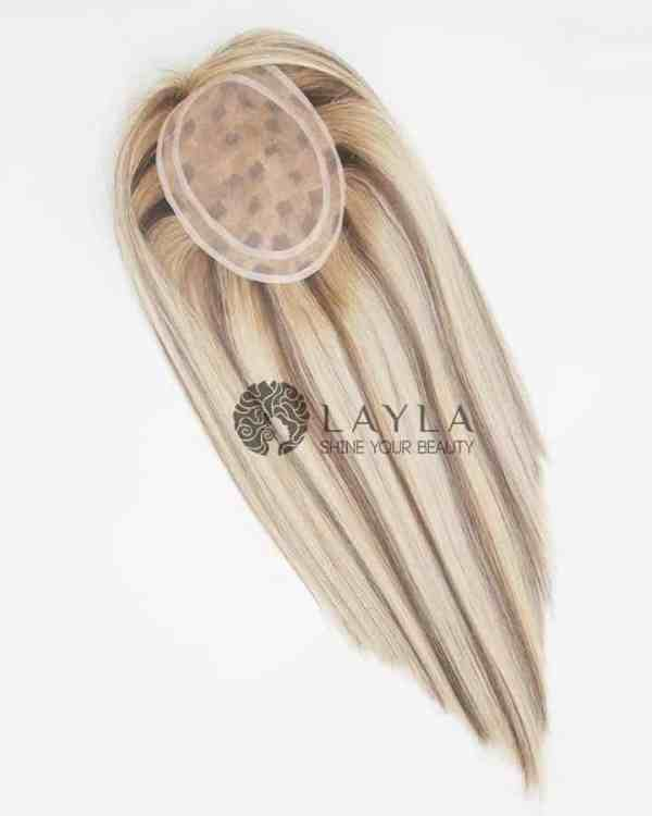 Real Hair Topper Mixing Colors Laylahair