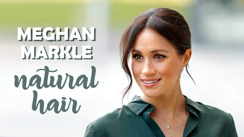 Untold Stories About The Former Duchess - Meghan Markle Natural Hair