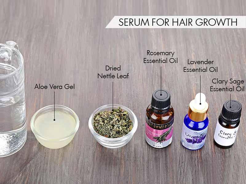 This DIY Hair Growth Serum Recipe Will Help You Gain Good Hair