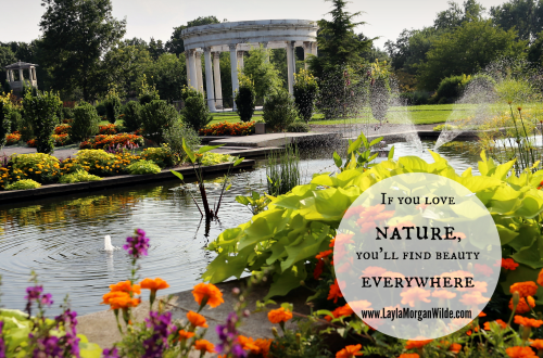 Persian Gardens-quote nature
